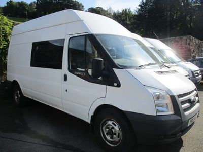Ford Transit Window Van 2.2 TDCi 350 High Roof Van LWB 3dr (EU5, LWB)