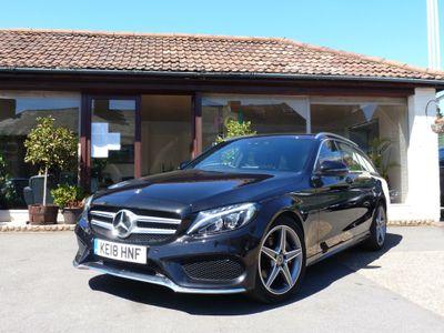 Mercedes-Benz C Class Estate 2.0 C200 AMG Line G-Tronic+ (s/s) 5dr