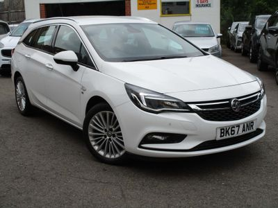 Vauxhall Astra Estate 1.4i Turbo Elite Sports Tourer 5dr
