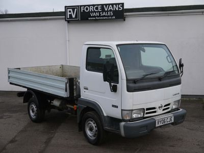 Nissan Cabstar Tipper ALLOY DROPSIDE FLAT BED TIPPING TIPPER