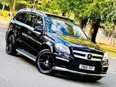 Mercedes-Benz GL Class SUV 3.0 GL350 CDI BlueTEC AMG Sport 4MATIC (s/s) 5dr