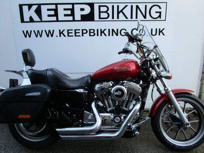 Harley-Davidson Sportster Custom Cruiser 1200 XL T SuperLow