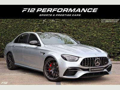 Mercedes-Benz E Class Saloon 4.0 E63 V8 BiTurbo AMG S Night Edition (Premium Plus) SpdS MCT 4MATIC+ (s/s) 4dr