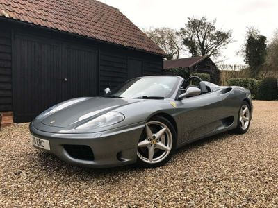 Ferrari 360 Convertible 3.6 Spider 2dr