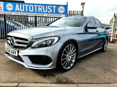 Mercedes-Benz C Class Saloon 2.1 C300dh BlueTEC AMG Line G-Tronic+ (s/s) 4dr