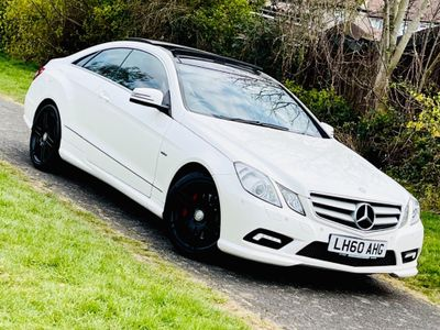 Mercedes-Benz E Class Coupe 1.8 E250 CGI BlueEFFICIENCY Sport 2dr
