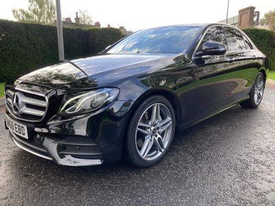 Mercedes-Benz E Class Saloon 2.0 E200 AMG Line (Premium) G-Tronic+ (s/s) 4dr