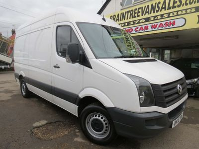 Volkswagen Crafter Panel Van 2.0 TDI CR35 MWB High Roof Van 4dr Diesel Manual (MWB) (234 g/km, 108 bhp)