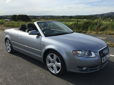 Audi A4 Cabriolet Convertible 3.0 TDI S line Cabriolet quattro 2dr