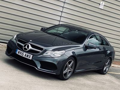 Mercedes-Benz E Class Coupe 2.0 E200 AMG Line 7G-Tronic Plus 2dr