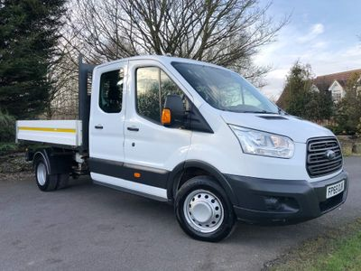 Ford Transit Tipper 2.2 TDCi 350 1-Way Double Cab Tipper RWD L3 EU5 4dr (1-Stop)