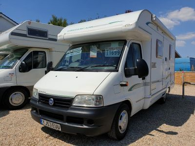 Bessacarr E450 Low Profile Fiat ducato 2.3 jtd