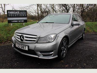 Mercedes-Benz C Class Estate 2.1 C220 CDI AMG Sport Plus 7G-Tronic Plus 5dr (Map Pilot)