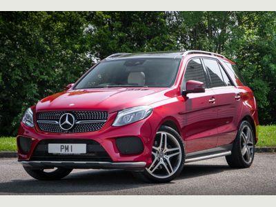 Mercedes-Benz GLE Class SUV 3.0 GLE350d V6 designo Line G-Tronic 4MATIC (s/s) 5dr