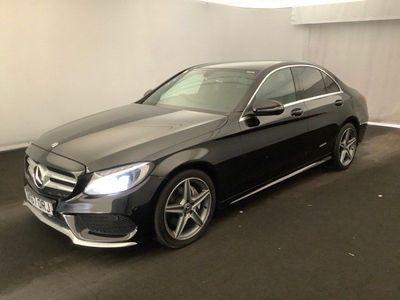 Mercedes-Benz C Class Saloon 1.6 C200d AMG Line G-Tronic+ (s/s) 4dr