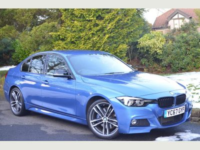 BMW 3 Series Saloon 2.0 320d BluePerformance M Sport Shadow Edition Auto (s/s) 4dr