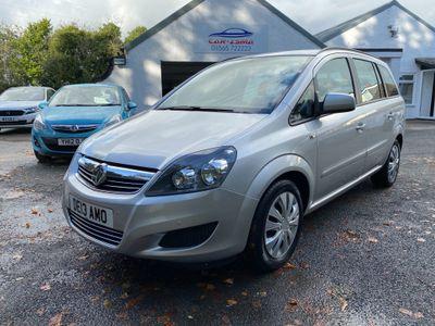 Vauxhall Zafira MPV 1.6 16V Exclusiv 5dr