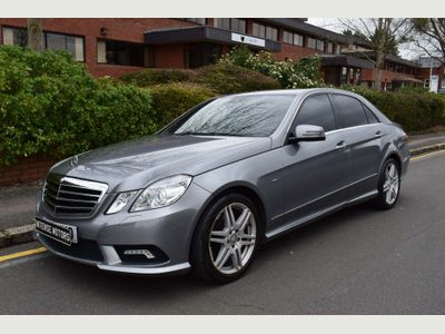 Mercedes-Benz E Class Saloon 3.0 E350 CDI BlueEFFICIENCY Sport Edition 125 G-Tronic 4dr