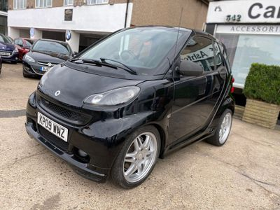 Smart fortwo Convertible 1.0 Brabus Cabriolet 2dr