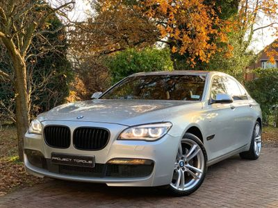 BMW 7 Series Saloon 3.0 730Ld M Sport Exclusive (s/s) 4dr