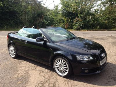 Audi A3 Cabriolet Convertible 1.8 TFSI Black Edition 2dr