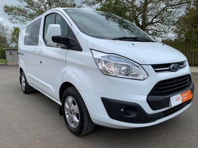 Ford Transit Custom Other 2.2 TDCi 290 Limited Double Cab-in-Van L1 H1 6dr