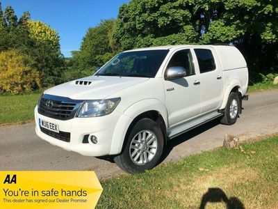 Toyota Hilux Pickup 2.5 D-4D Icon Double Cab Pickup 4WD 4dr