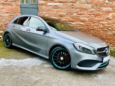 Mercedes-Benz A Class Hatchback 2.1 A220d Motorsport Edition (Premium) 7G-DCT (s/s) 5dr