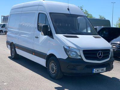 Mercedes-Benz Sprinter Panel Van 2.1 CDI 316 High Roof Panel Van MWB 5dr (EU6, MWB)