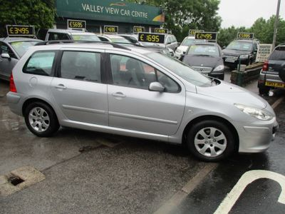 Peugeot 307 SW Estate 1.6 16v S Tiptronic 5dr