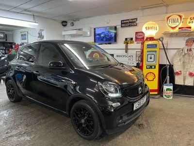 Smart forfour Hatchback 1.0 Edition Black Twinamic (s/s) 5dr