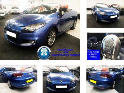 Renault Megane Convertible 2.0 dCi GT 2dr