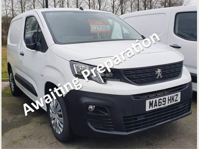 Peugeot Partner Panel Van 1.5 BlueHDi 1000 Professional Standard Panel Van SWB EU6 5dr