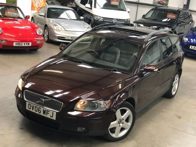 Volvo V50 Estate 2.4 D5 SE Geartronic 5dr