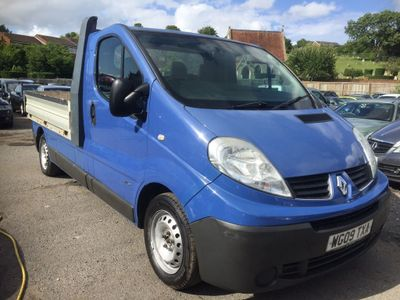 Renault Trafic Dropside 2.0 TD dCi PC LL29 Double Deck Dropside 2dr