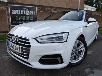 Audi A5 Cabriolet Convertible 2.0 TFSI Sport Cabriolet (s/s) 2dr