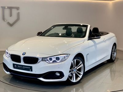 BMW 4 SERIES Convertible 2.0 420i Sport 2dr