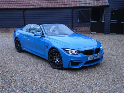 BMW M4 Convertible 3.0 BiTurbo GPF (Competition Pack) DCT (s/s) 2dr
