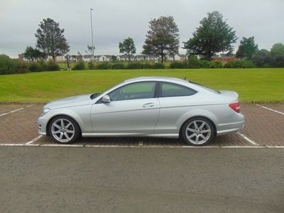 Mercedes-Benz C Class Coupe 1.6 C180 AMG Sport Edition (Premium) 7G-Tronic Plus 2dr