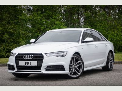 Audi A6 Saloon Saloon 2.0 TDI ultra Black Edition Saloon 4dr Diesel S Tronic (s/s) (190 ps)