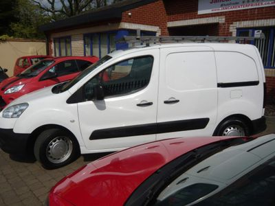 Peugeot Partner Panel Van 1.6 HDi S L1 625 SWB 4dr