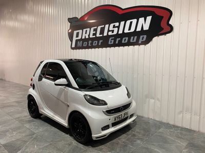Smart fortwo Coupe 1.0 Turbo BRABUS Xclusive Softouch 2dr