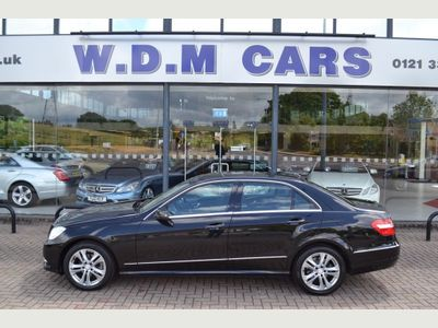 Mercedes-Benz E Class Saloon 2.1 E220 CDI BlueEFFICIENCY Avantgarde 7G-Tronic Plus (s/s) 4dr