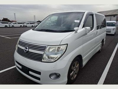Nissan Elgrand MPV ME51 Highway star Electric doors camera