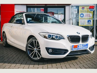 BMW 2 Series Convertible 2.0 218d Sport (s/s) 2dr