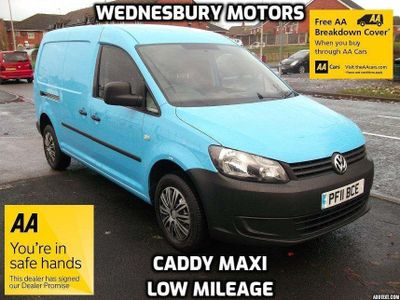 Volkswagen Caddy Maxi Panel Van 1.6CDTI Maxi 6 Door