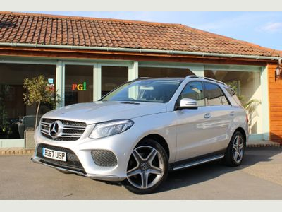 Mercedes-Benz GLE Class SUV 3.0 GLE350d V6 AMG Line (Premium) G-Tronic 4MATIC (s/s) 5dr