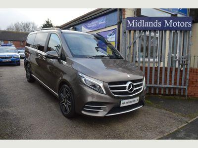 Mercedes-Benz V Class MPV 2.2 V250d AMG Line G-Tronic+ LWB EU6 (s/s) 5dr 8 Seat LWB