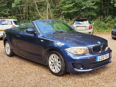 BMW 1 Series Convertible 2.0 118i ES Auto 2dr