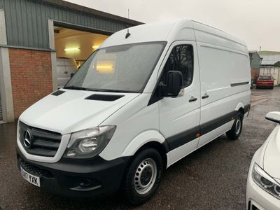 Mercedes-Benz Sprinter Panel Van 2.1 CDI 314 Panel Van 5dr (EU6, MWB)